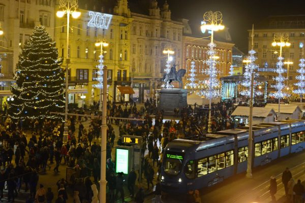 Christmas evenings in Zagreb