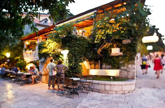 Top 5 restaurants in Dubrovnik