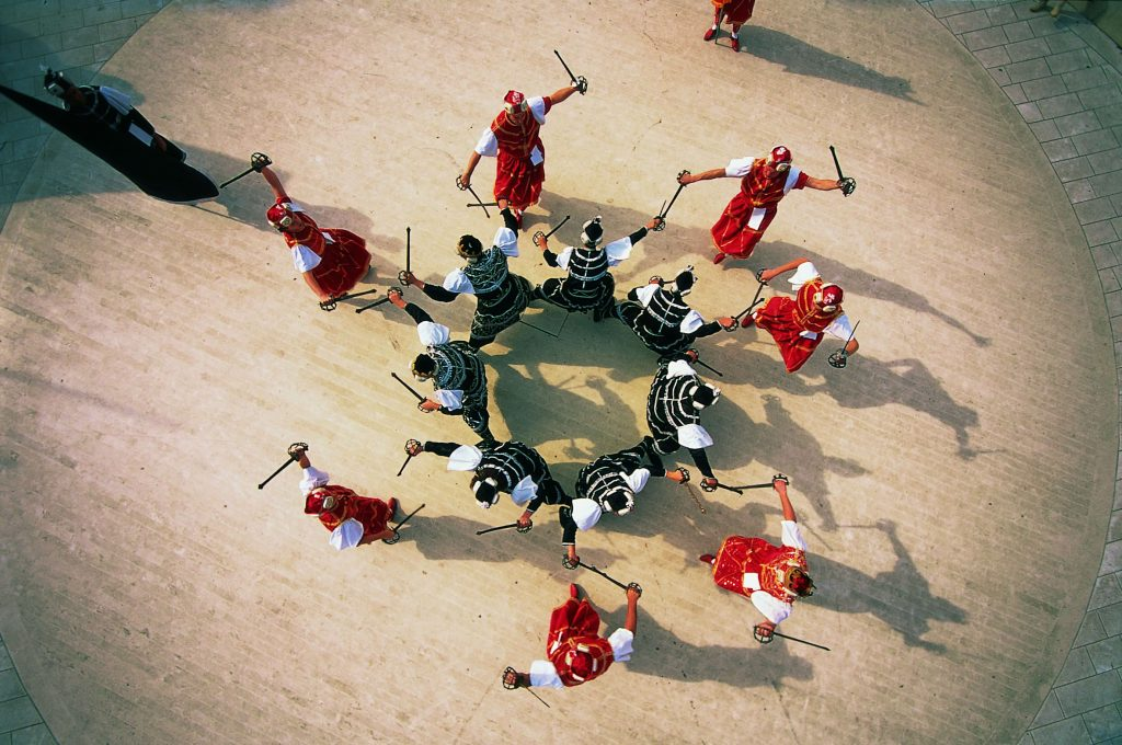 Moreška – traditional sword dance on the island of Korčula