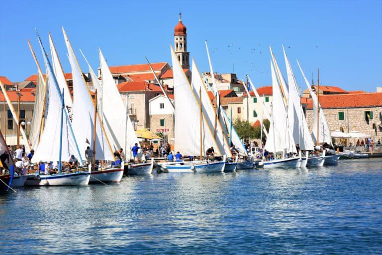 Traditional regatta in Betina 'For soul and body'