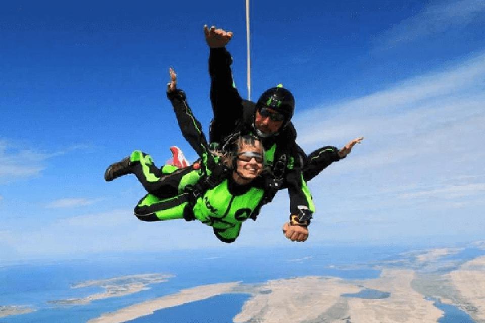 Tandem Skydive in Zadar